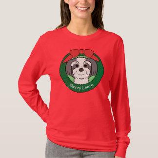 Lhasa Apso Christmas T-Shirt