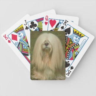 Lhasa Apso Dog Playing Cards