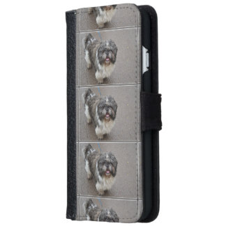 Lhasa Apso iPhone 6 Wallet Case