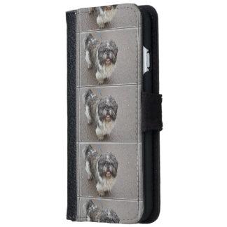 Lhasa Apso iPhone 6 Wallet Case