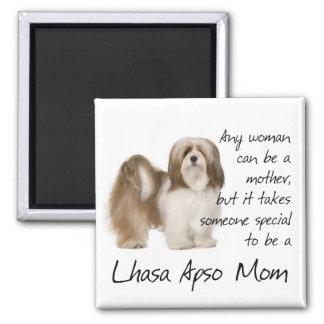 Lhasa Apso Mom Magnet Magnet