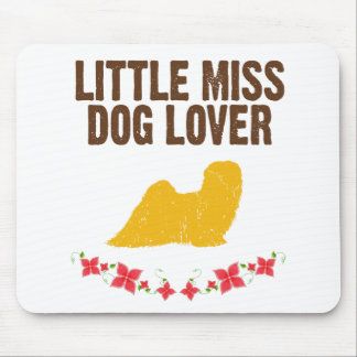 Lhasa Apso Mouse Pad