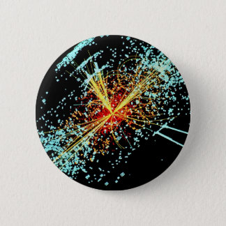 LHC Collision 6 Cm Round Badge