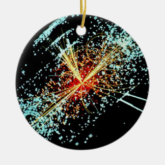LHC Collision Christmas Ornament