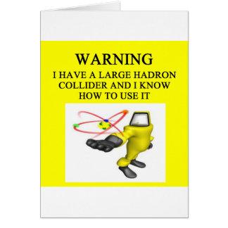 LHC large hadron collider Card