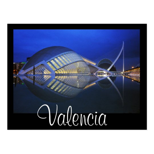 L'Hemisfèric, City of Arts and Sciences, Valencia Postcard