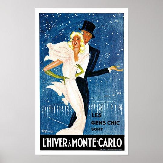 L'Hiver a Monte Carlo Poster