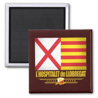 L'Hospitalet de Llobregat Square Magnet