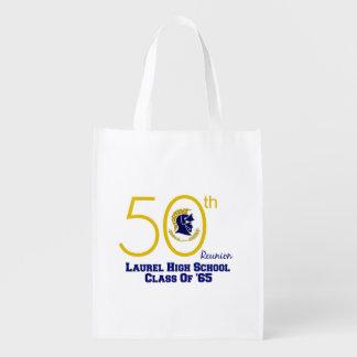 LHS 50th REUNION CLASS OF 65 REUSABLE BAG