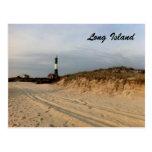 LI Lighthouse Postcard