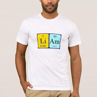 Liam periodic table name shirt