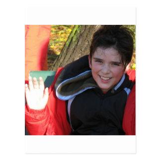 Liam-powerbelt-run Postcard