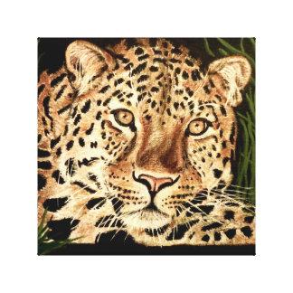 Liam the Leopard Canvas Print