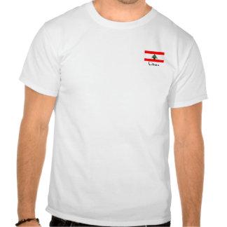 Liban Lebanese Flag small logo Men's T-shirt