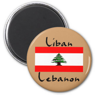 Liban Lebanon Flag  Magnet