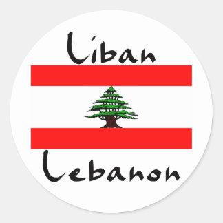 Liban Lebanon Flag  Stickers