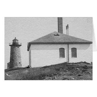 Libby Island Lighthouse Greeting Cards