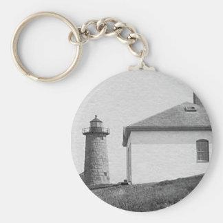 Libby Island Lighthouse Key Chains