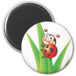 Libby the Ladybug Magnet