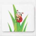Libby the Ladybug Mousepad