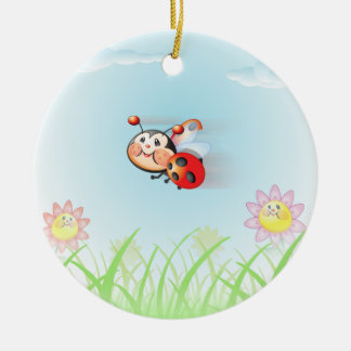 Libby the Ladybug Ornament