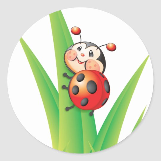Libby the Ladybug Sticker