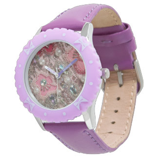 Liberace Costume Print Watch