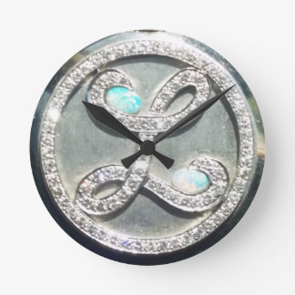 "Liberace ""Tiffany Heist"" licensed image clock"