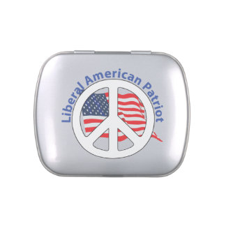 Liberal American Patriot Jelly Belly Tins