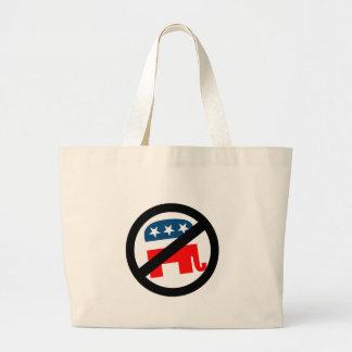 Liberal / Anti-Republican Tote Bag