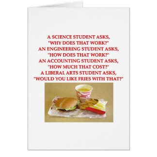 liberal arts greeting cards