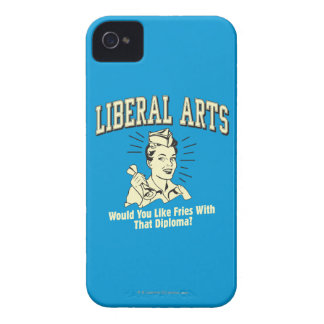 Liberal Arts: Like Fries With Diploma iPhone 4 Covers