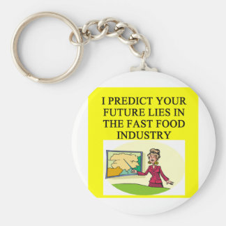 liberal arts presiction basic round button key ring