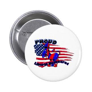 Liberal Democrat Donkey 6 Cm Round Badge
