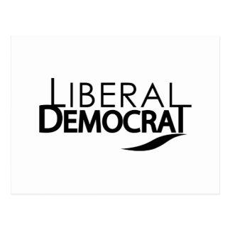 Liberal Democrat Postcard