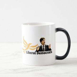 Liberal Democrats 11 Oz Magic Heat Color-Changing Coffee Mug