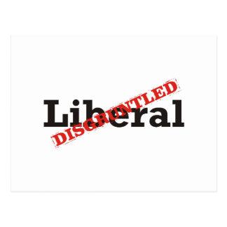 Liberal / Disgruntled Postcard