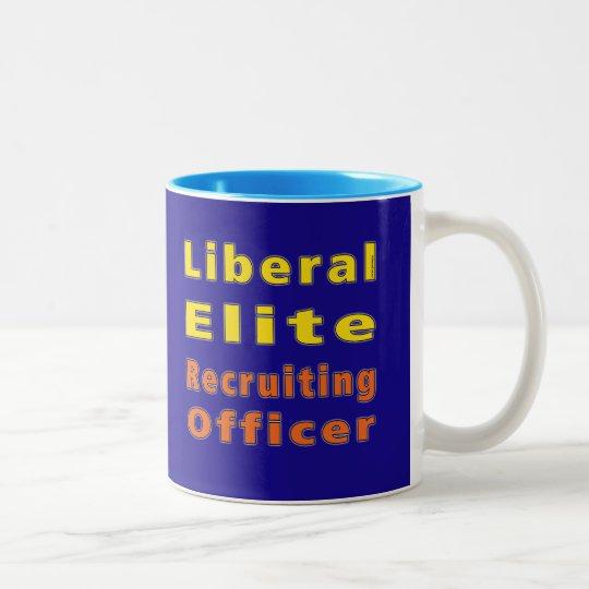 Liberal Elite Recruiting Officer (Metropolitan) Two-Tone Coffee