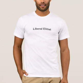 Liberal Elitist Label Tee