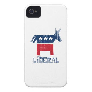Liberal Faded.png iPhone 4 Case-Mate Case