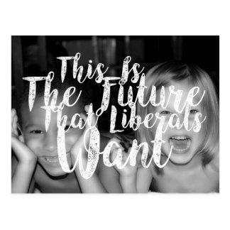 Liberal Future 2 Postcard