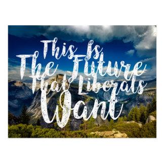 Liberal Future 4 Postcard