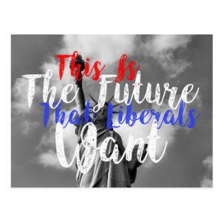 Liberal Future 5 Postcard