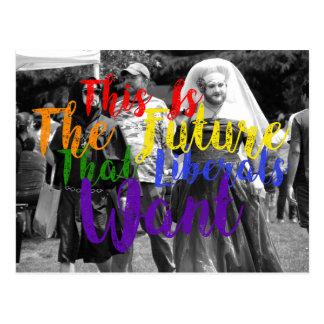 Liberal Future 6 Postcard