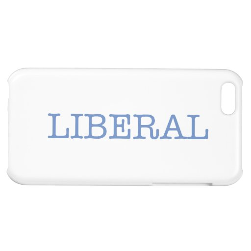 Liberal iPhone 5C Cover