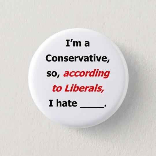 Liberal Lies Name Badge