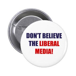 Liberal Media 6 Cm Round Badge