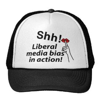 Liberal Media Bias Trucker Hat