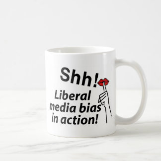 Liberal Media Bias Coffee Mug