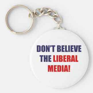 Liberal Media Key Chains